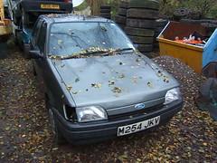JANUARY 1995 FORD FIESTA 1299cc LX M254JKV (Midlands Vehicle Photographer.) Tags: ford fiesta january 1995 lx 1299cc m254jkv