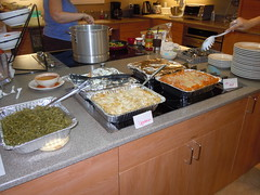 Cooked food from Xenium at the Ronald McDonald House in Portland