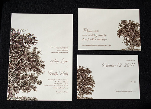 Collection Oak Tree Wedding Invitations Pictures - Weddings Center