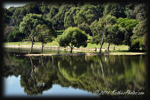 Beautiful day at Lysterfield Lake Park