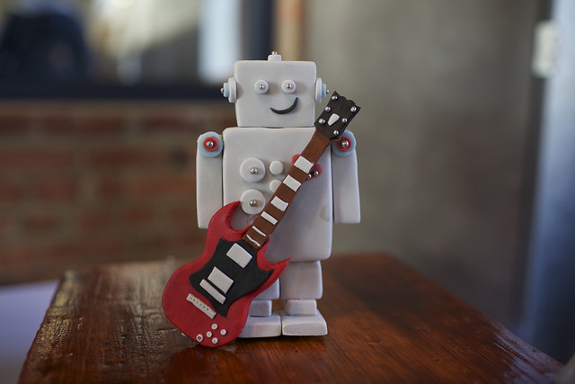 Sugar Robot & Guitar