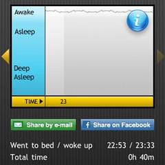 Sleep Cycleが記録したわたしの眠り。そろそろ続きを。。。