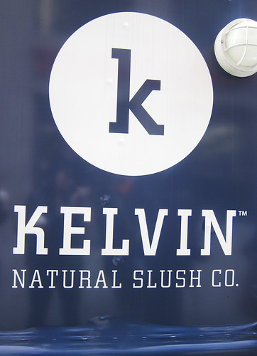 Kelvin Natural Slush - Signage
