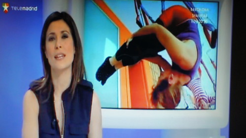 Tele Madrid: Aero Yoga (y Pilates Aéreo)