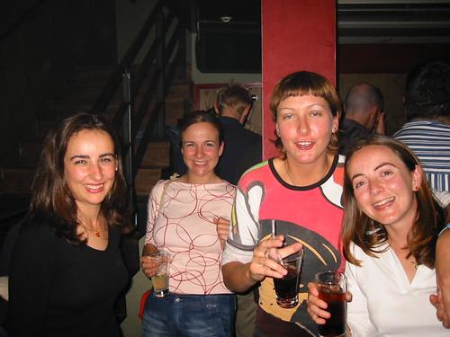 Marag, Maria, Aitziber, Rocio