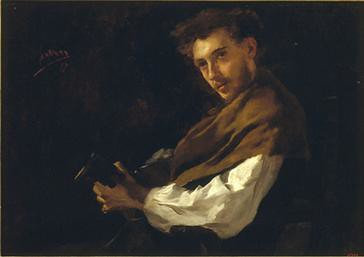 Simo Gómez, El guitarrista. 1877