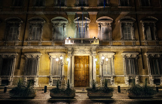 Lonely Shadows - (HDR Rome, Italy)