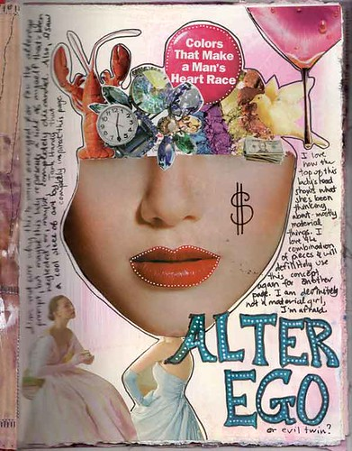 Alter Ego - Journal Page by literarytease