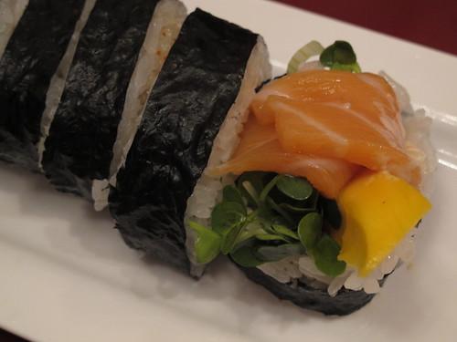 Mango Salmon Roll