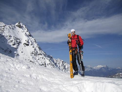 Top of Col des Chaux