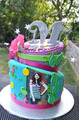 Wizards of Waverly Place (thecakemamas) Tags: cake birthdaycake selenagomez wizardsofwaverlyplace girlcake teencake selenagomezcake wizardscake