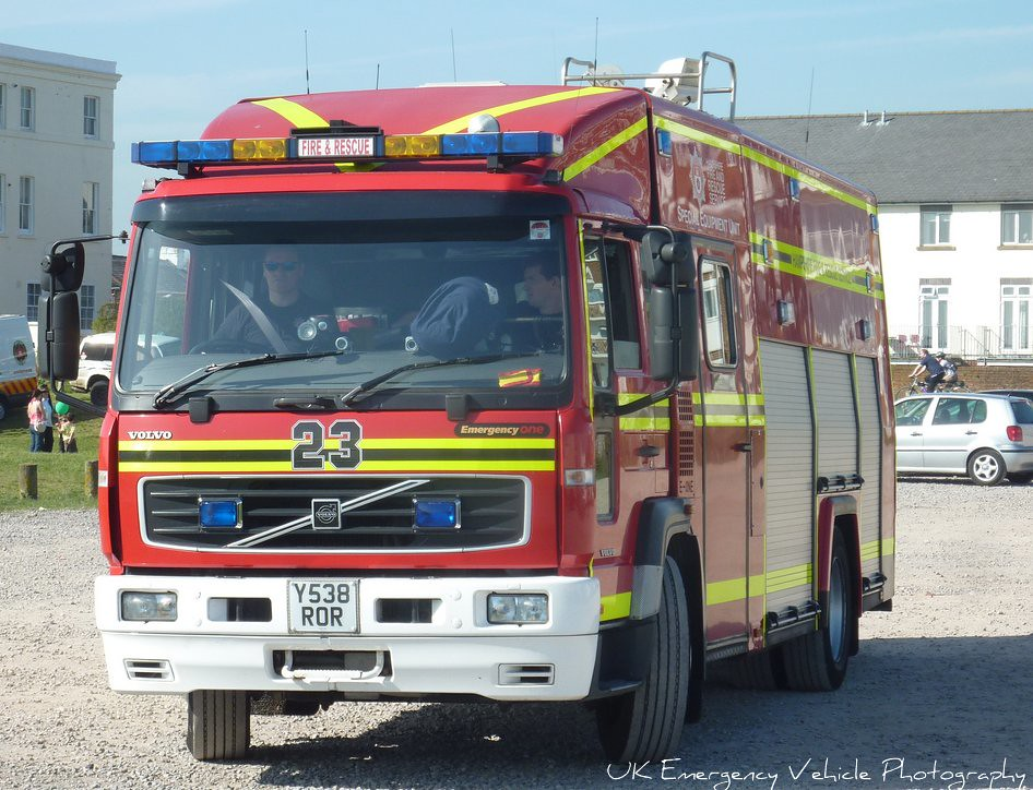 Hampshire Fire & Rescue | Volvo Emergency One | Special Equipment Unit | Y538 ROR