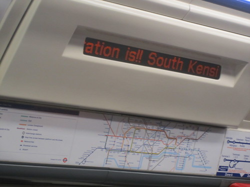 Next Station is !! South Kensington
