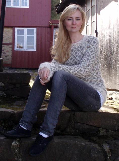 Ravelry Long Faroese Sweater Pattern By Hanne Magnussen