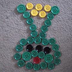 Button Picture Alien