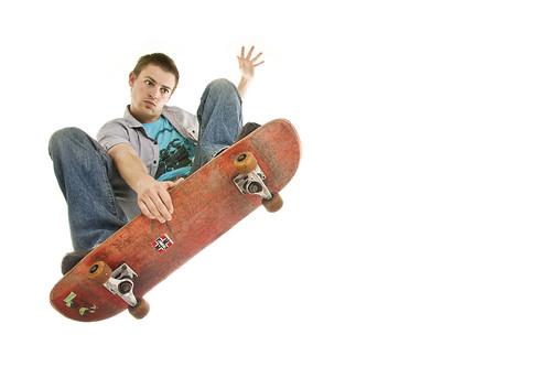 Skateboard - Self Sportrait