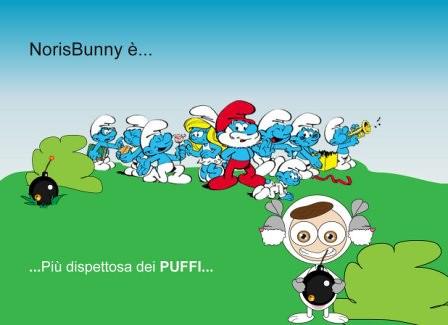 puffi-e-bunny by NorisBunny