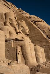 The Great Temple 4 (schmaeche) Tags: lake temple see egypt nile nil aswan ramsesii nasser tempel abusimbel eg stausee ramessesii nefertari أبوسنبل
