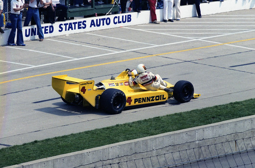 Pennzoil Car in 1980