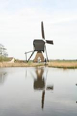 Molen in de buurt van Meerkerk (Vincent Teeuwen) Tags: holland mill windmill dutch moulin molen windmolen gemaal klassiek oudhollands