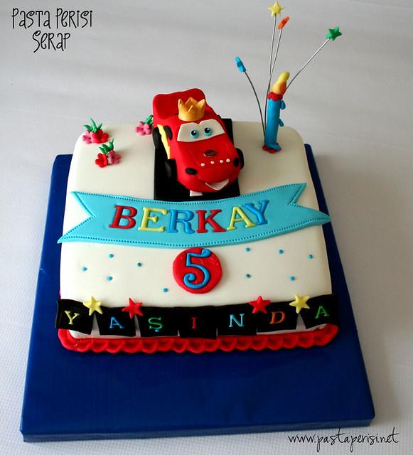 şimşek mcqueen Cake - Berkay