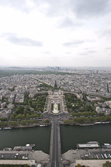 Eiffel Tower from the Top 02