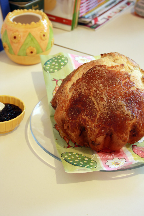 Easy Easter brioche