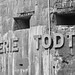 Batterie Todt original WW2 sign