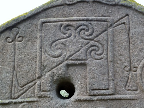 Pictish Symbols at Aberlemno