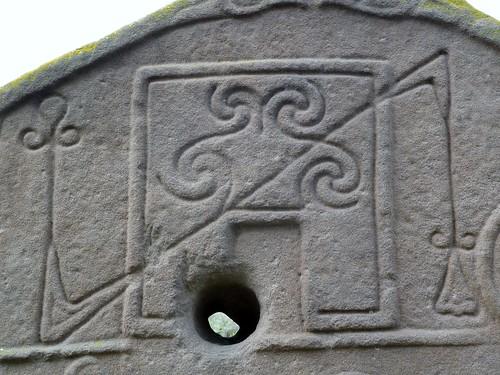 Pictish Symbols at Aberlemno