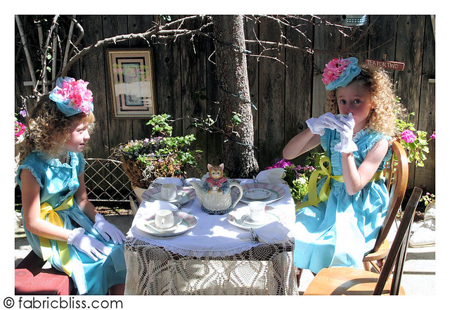 Easter {or} Tea Party hat tutorial