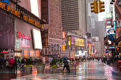 Times Square (dentarg) Tags: nyc newyorkcity usa ny newyork rain us timessquare regn canonef35mmf20 canoneos7d