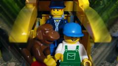 Day 109 (chrisofpie) Tags: chris pie monkey lego doug legos hero heroes minifig roger minifigure bluehat legohero chrisofpie rogeranddoug 365legos dougthechimp