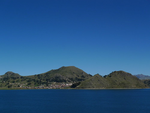 View to - Copacabana, Bolivia