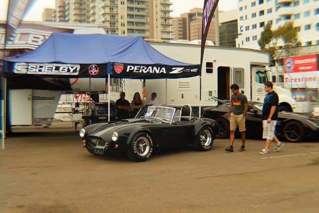 Shelby Cobra - Toyota Grand Prix Lifestyle Expo by Scott Lindsey