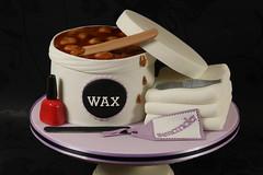 Beauty Treatments Cake (Kingfisher Cakes) Tags: beauty cake 3d wax manicure beautician beautytherapy kingfishercakes