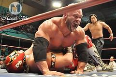 DSC_0705 Strong Man, Blue Panther y máximo vs Goto , Ultimo Guerrero y Héctor Garza por LAE Manuel Vela