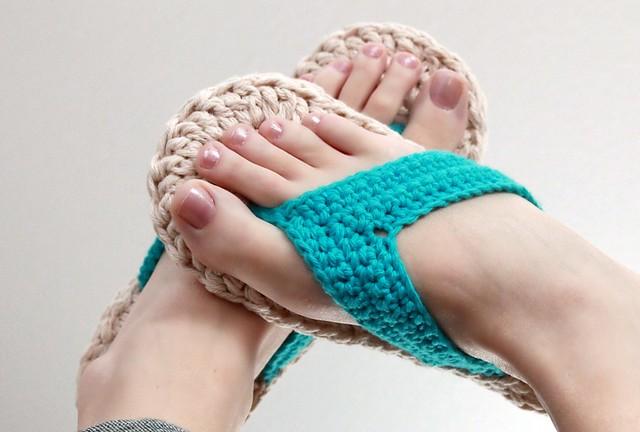 Crochet Flip Flops - Ravelry