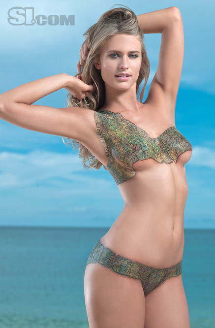Body Painting Julie Henderson Swimsuit 0002