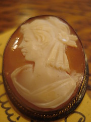 "SILVER MOUNTED CAMEO, LATE 19TH CENTURY. • <a style=""font-size:0.8em;"" href=""http://www.flickr.com/photos/51721355@N02/5638654609/"" target=""_blank"">View on Flickr</a>"