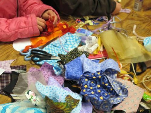 A pile 'o fabric