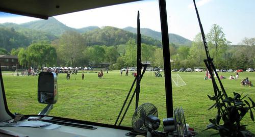 soccer view