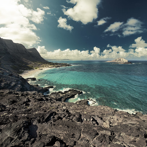 フリー写真素材, 自然・風景, 海, 海岸, アメリカ合衆国, ハワイ州,