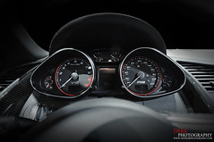 Inside an R8 V10 (Derek Walker Photo (Derk Photography)) Tags: auto show new york city car spider nikon interior spyder exotic audi rare v10 r8 convertable derk d300 2011