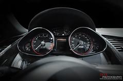 Inside an R8 V10 (Derek Walker Photo (Derk Photography)) Tags: auto show new york city car spider nikon interior spyder exotic audi rare v10 r8 convertable derk d300 2011