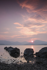 Millarochy Bay (jamest1982) Tags: sunset mountains speed landscape bay scotland shutter loch lomond lochlomond millarochy