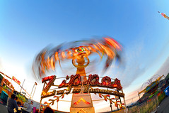 zipper (hep) Tags: longexposure carnival amusement ride fair fisheye zipper pacifica seabowl fairride