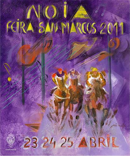 Noia 2011 - Festas de San Marcos - cartel