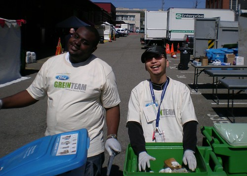Greenfest volunteering