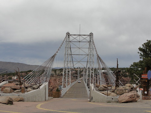 At The Royal Gorge Bridge
